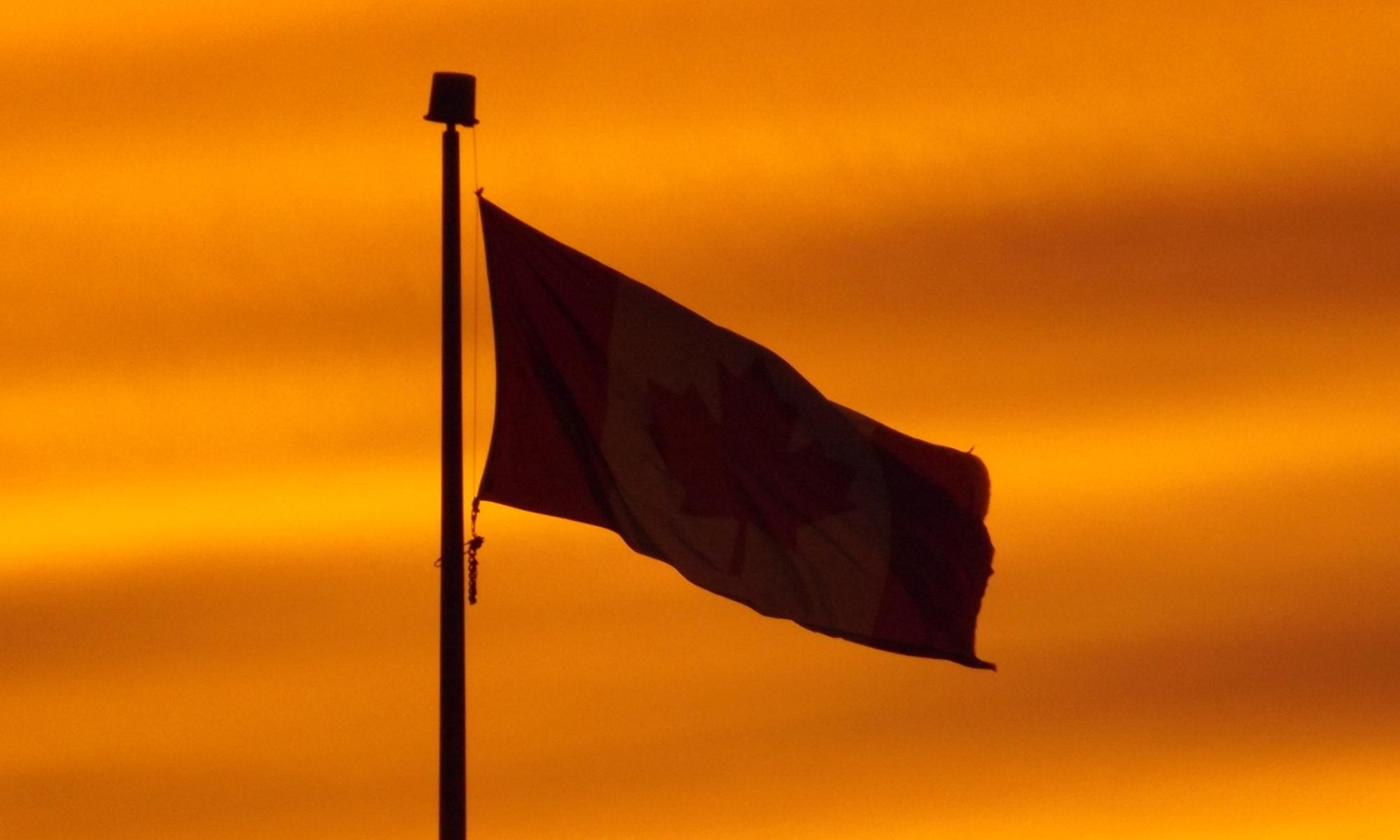 Canadian-Flag-sunset-DSCF5326
